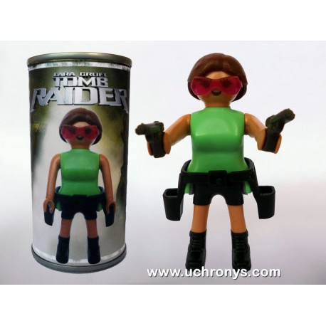 TOMB RAIDER - LARA CROFT - PLAYMOBIL