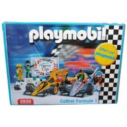 PLAYMOBIL - 3930 - COFFRET FORMULE 1 (BOITE NEUVE ET RARE)