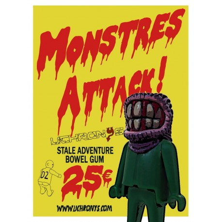 MONSTRES ATTACK - STREUMOUTH