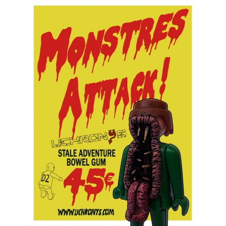 MONSTRES ATTACK - STREUMLANGUE