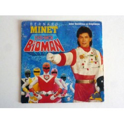 45 TOURS - BIOMAN PAR BERNARD MINET - AB KID 1988